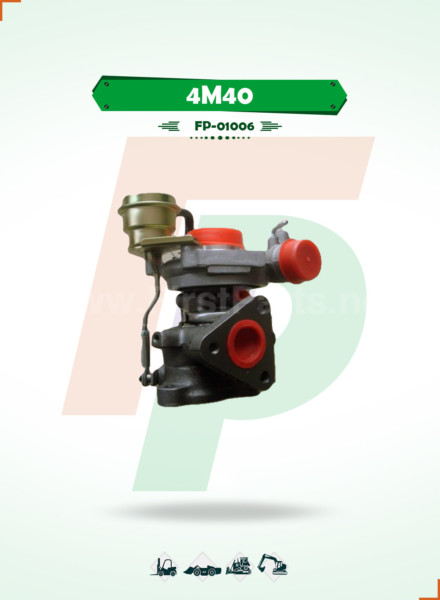 TURBOCHARGER   4M40