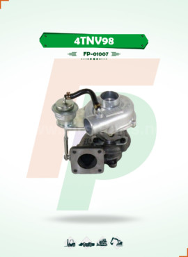 TURBOCHARGER   4TNV98