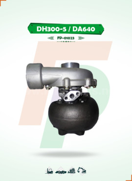 TURBOCHARGER   DH300