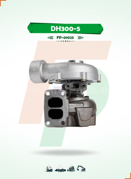 TURBOCHARGER   DH300-5