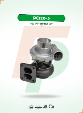 TURBOCHARGER   PC120-5 / 4D95