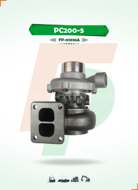 TURBOCHARGER   PC200-5 / 6D95