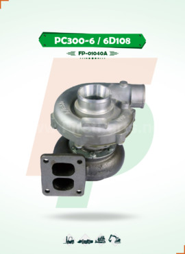 TURBOCHARGER   PC300-5/6  6D108