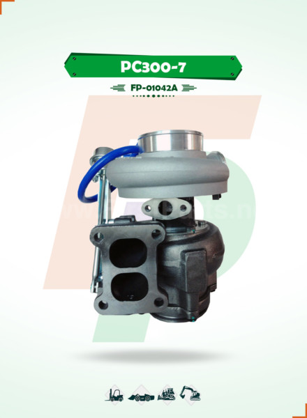 TURBOCHARGER   PC300-7