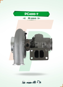 TURBOCHARGER   PC400-7 / 6D125