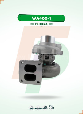 TURBOCHARGER   WA400-1