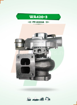 TURBOCHARGER   WA400-3 / WA420-3