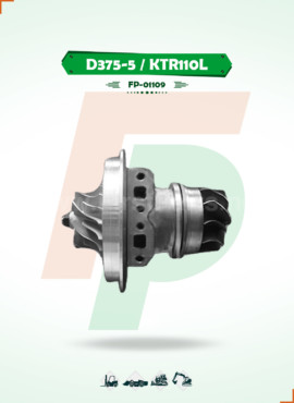 TURBOCHARGER CORE / CHRA D375-5