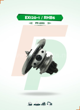 TURBOCHARGER CORE / CHRA EX120-1