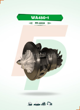 TURBOCHARGER CORE / CHRA WA450-1
